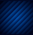 abstract dark blue stripe pattern diagonal vector image vector image