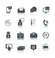 Contact Us Service Icons Set