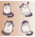 High quality original of cute cat vector image