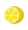 Lemon In Flat Style Design vector image vector image
