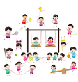 sport for kids healthy lifestyle vector image vector image