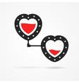 Steampunk hearts vector image vector image
