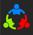 Three People Strong Logo