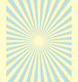 yellow and blue rays background vector image
