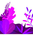 abstract elegance pattern with floral background vector image