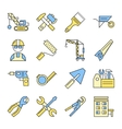 Building Tools Icon Set vector image vector image