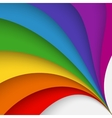 Colored abstract background vector image vector image