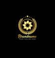 luxury branding logo can be used for jewelry vector image vector image