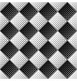seamless geometrical dot pattern background vector image vector image