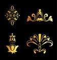 Set of Ornate Ornaments Perfect