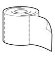 bumf icon outline vector image