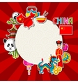 china background design chinese sticker symbols
