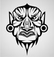 Mask Tribal vector image vector image