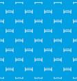 modern arch bridge pattern seamless blue vector image vector image