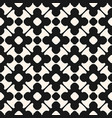 seamless pattern monochrome floral ornament vector image vector image