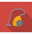 Vacuum cleaner flat icon vector image vector image