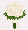 Wedding Flower Bouquet vector image