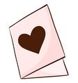A wedding invitation vector image vector image