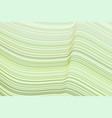 artistic line curve wave background pattern vector image