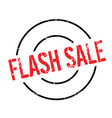 flash sale rubber stamp vector image vector image