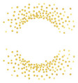 gold round1 vector image vector image