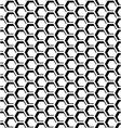 Hexagons op art texture vector image vector image