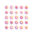 mandala decoration ornament flower motif ethnic vector image vector image
