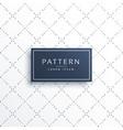 minimal line dots diamond shape pattern background vector image vector image