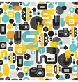 Photo man seamless background vector image