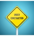 Photorealistic Website Under Construction vector image vector image
