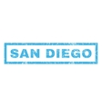 San Diego Rubber Stamp vector image