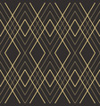 abstract art deco seamless pattern 21 vector image vector image