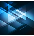 Elegant Geometric Blue Background vector image