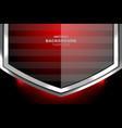 modern black red background design vector image vector image