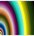 multicolour arcs vector image vector image