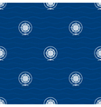 Seamless Pattern with Compass Rose vector image vector image