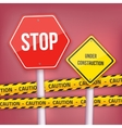 Stop Sign Website Under Construction