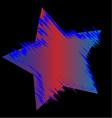 Usa star logo vector image