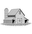 barn vector image vector image