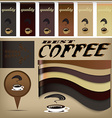 Coffee design banners vector image