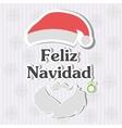 Feliz Navidad vector image