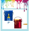 Home renovation set of color roller brushes and vector image vector image