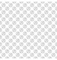 musical note in circle seamless pattern vector image