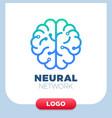 neural networks human brain logo icon chip
