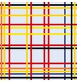 Seamless geometric abstract art vector image