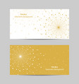 set horizontal banners vector image vector image