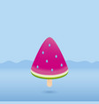 watermelon ice cream vector image vector image