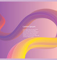 abstract fluid background vector image