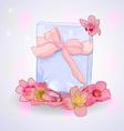 Cartoon style gift vector image