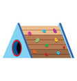 climbing playground equipment object vector image vector image